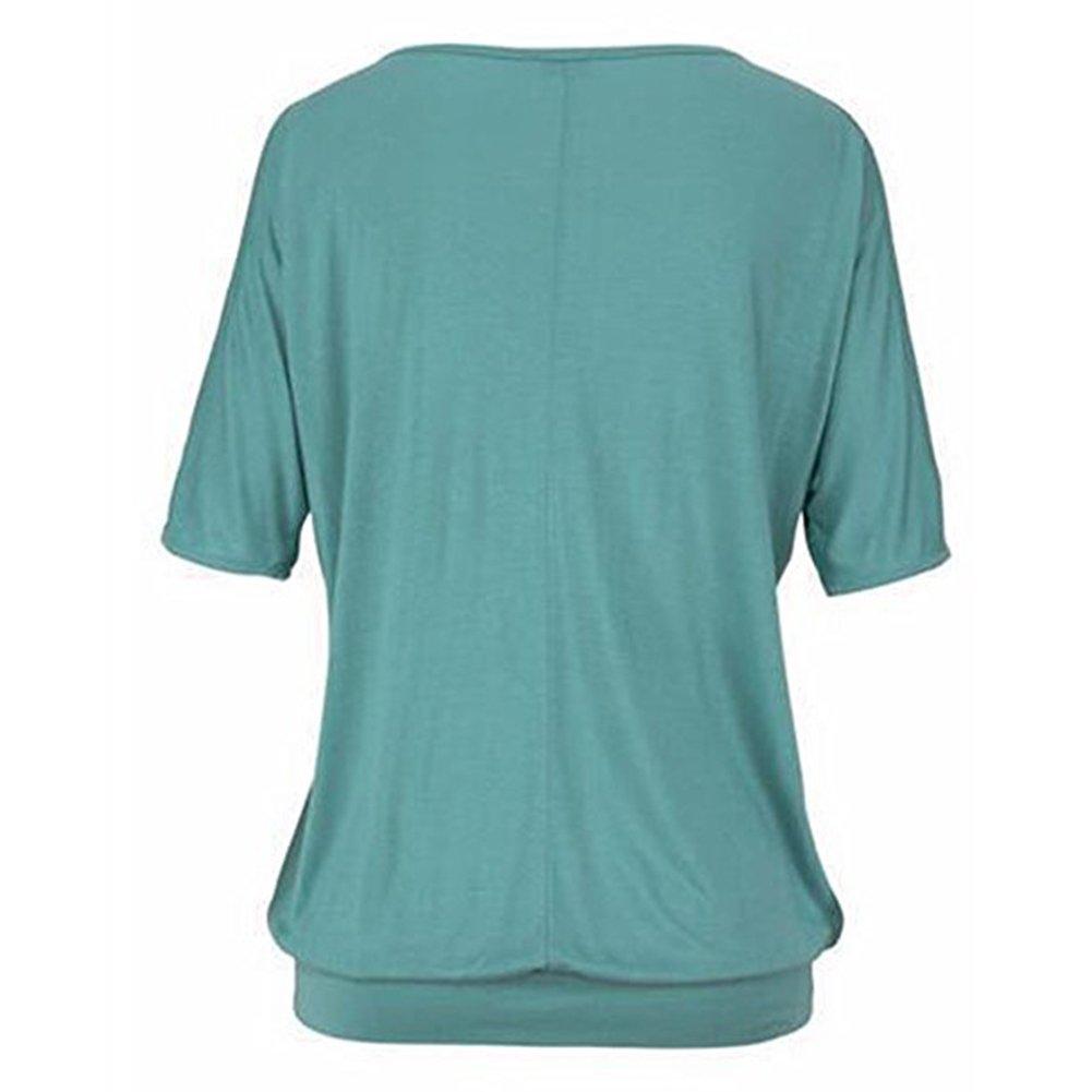 Hibote Mujer Blusa Encaje Gasa Camisa Mujer Blusas Manga Larga O Cuello Tops Elegante Slim Fit Top Camisa de Color Sólido: Amazon.es: Ropa y accesorios