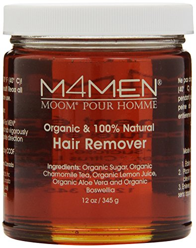 Moom Hair Removal System for Men - Refill 12 oz Jar