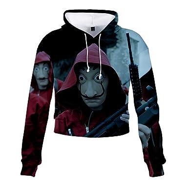 La CASA de Clown - Disfraz con Capucha para Mujer, diseño de ...