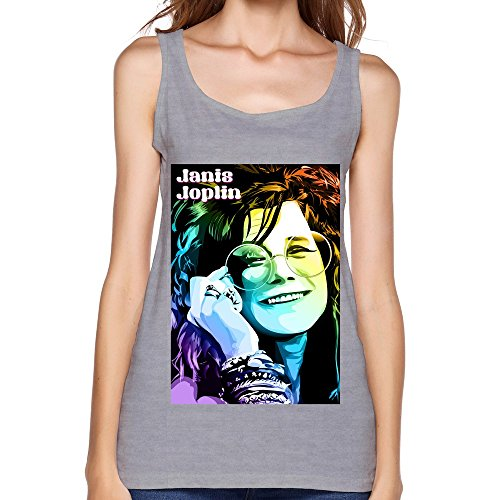 WYBU Gray Janis Joplin Vintage Top For Womens Size M