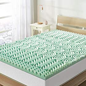 Best-Price-Mattress-15-Inch-5-Zone-Memory-Foam-Topper-Mattress-Pad-with-Calming-Aloe-Vera-Infusion-CertiPUR-US-Certified-Twin