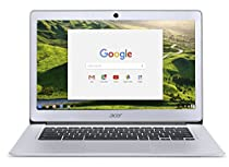 2017 Newest Acer 14 Inch FHD Premium Flagship Chromebook (IPS 1920x1080 Display, Intel Celeron Quad-Core N3160 Processor up to 2.24GHz, 4GB RAM, 32GB SSD, Wifi, Chrome OS) (Certified Refurbished)