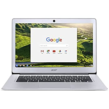 2017 Acer 14 Inch FHD Premium Flagship Chromebook (IPS 1920x1080 Display, Intel Celeron Quad-Core N3160 Processor up to 2.24GHz, 4GB RAM, 32GB SSD, Wifi, Chrome OS) (Certified Refurbished)