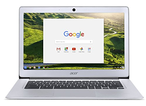 2017 Acer 14 Inch FHD Premium Flagship Chromebook (IPS 1920×1080 Display, Intel Celeron Quad-Core N3160 Processor up to 2.24GHz, 4GB RAM, 32GB SSD, Wifi, Chrome OS) (Certified Refurbished)