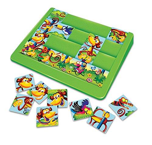 Beliebtes Spiel auseinanderzuhalten Monkey mixup