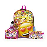 Best Back To School Backpacks - Emoji Yellow16 inch Backpack Back to School Essentials Review