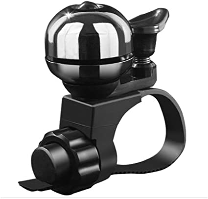 Mountain Bike LESOVI Copper Alloy Bike Bell BMX Bike oi Bicycle Bell Sports Bike City Bike Cruiser Bike Loud Sound Bike Horn Ring for Road Bike
