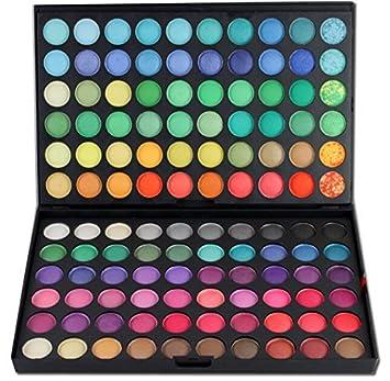 Beauty7 Sombra de Ojos Paleta Estuche 120 Colores Maquillaje ...