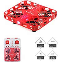 MIni Drone, Reddie Mesh Quadcopter 2.4G 4CH 6Axis with Headless Mode RC Quadcopter RTF One Key Return 3D Flip(Red)