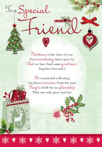 To a special friend general handmade christmas card xhwdl024 to a special friend general handmade christmas card xhwdl024 amazon office products m4hsunfo