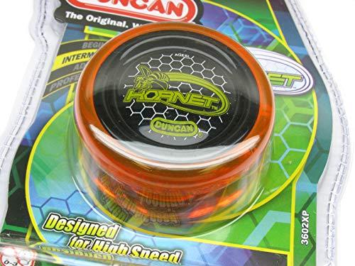 Duncan Hornet Looping Intermediate Yo-Yo - Transparent Orange-Black