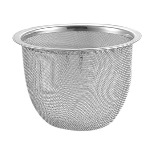 Funnytoday365 Stainless Steel Mesh Tea Mesh Tea Infuser Reusable Strainer Loose Tea Leaf Spice Stainless Steel Filter Tea Strainer