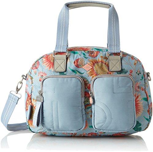 Oilily Charm Sunflower Handbag Mhz, Womens Bag, Blue (Light Blue), 17x25x33 cm (B x H T)