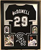 jack mcdowell - FRAMED JACK MCDOWELL AUTOGRAPHED SIGNED CHICAGO WHITE SOX JERSEY JSA COA