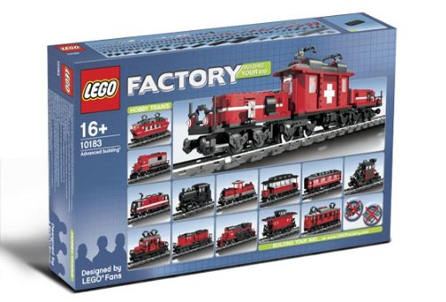 10183 Custom Factory Hobby Train