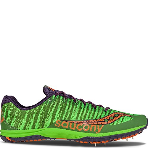 Saucony Mens Kilkenny Xc5 Cross-country Shoe Green | Oranje