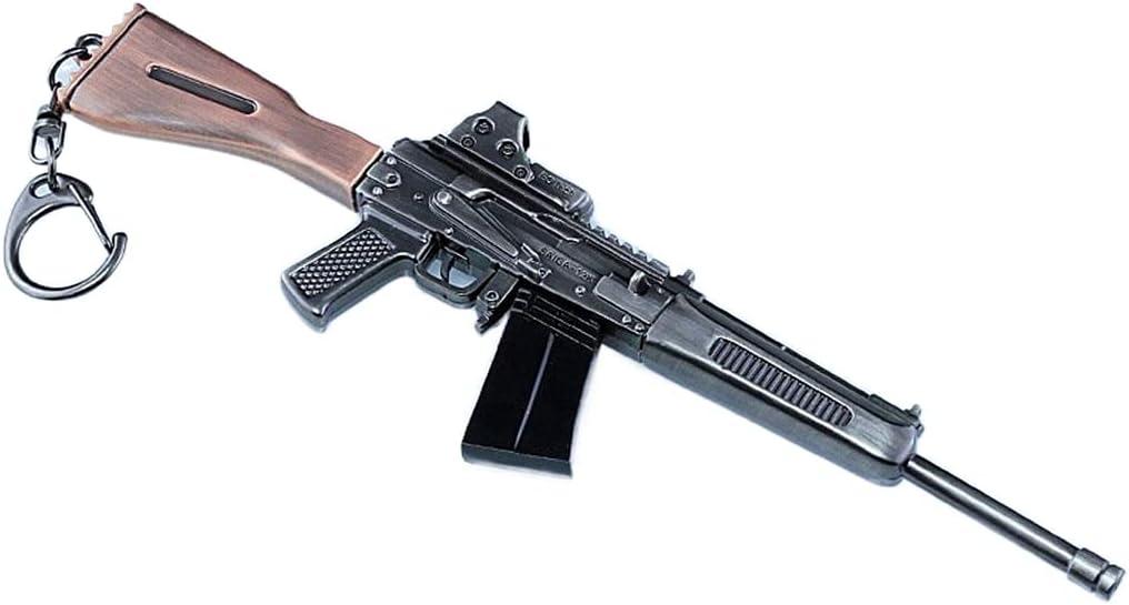 Anime Cosplay S12K Escopeta Llavero Aleación Armas Desmontable Modelo Niños Mini Juguete A Escala 1/6 Regalo (C)