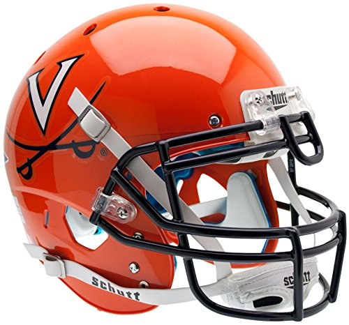 VIRGINIA CAVALIERS Schutt AiR XP Full-Size AUTHENTIC Football Helmet UVA (ORANGE) by Unknown