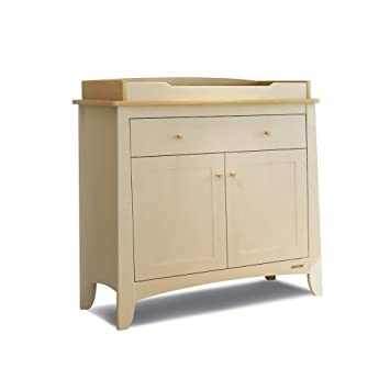 Start Rite Maple Changing Unit (Ivory And Oak Stain)