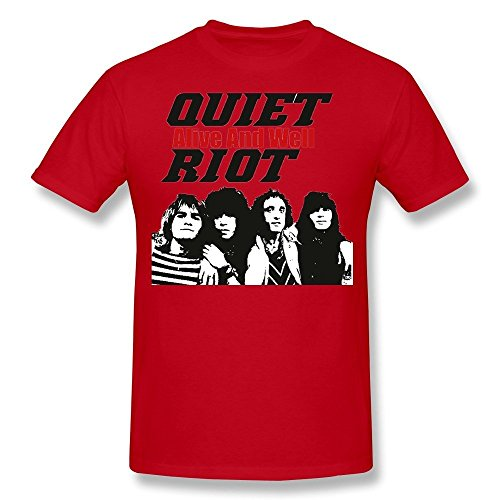 Men's QUIET RIOT Alive And Well T-shirt M Red