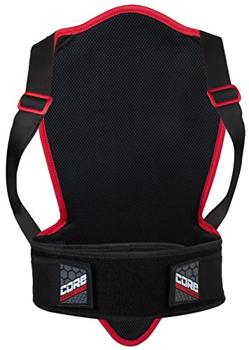 Pilot Core Motorcycle Back Protector V2 (Black, 460mm)