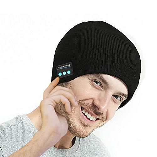 Bluetooth Music Beanie Hat, Knit Cap Built in H...