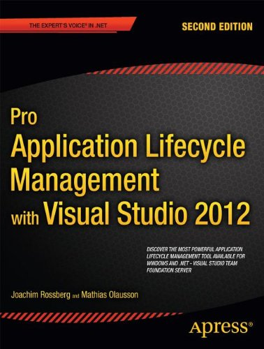 [PDF] Pro Application Lifecycle Management with Visual Studio 2012, 2nd Edition Free Download | Publisher : Apress | Category : Computers & Internet | ISBN 10 : 1430243449 | ISBN 13 : 9781430243441