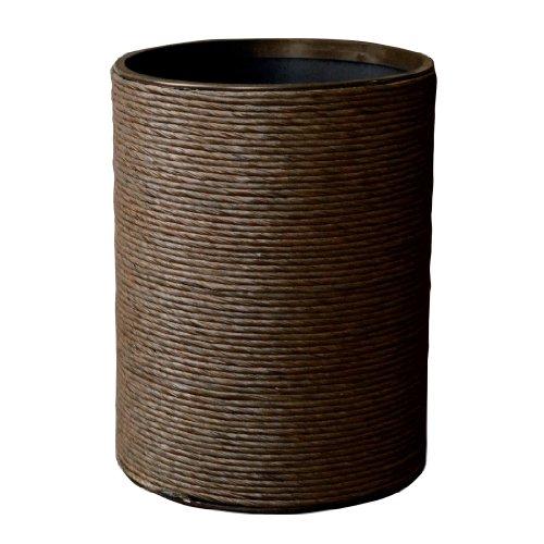 Lamont Home Hand Spun Round Wastebasket by Lamont Home