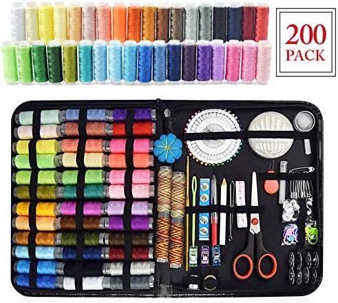 Kit de costura,Costurero con 200 piezas Accesorios de costura ...