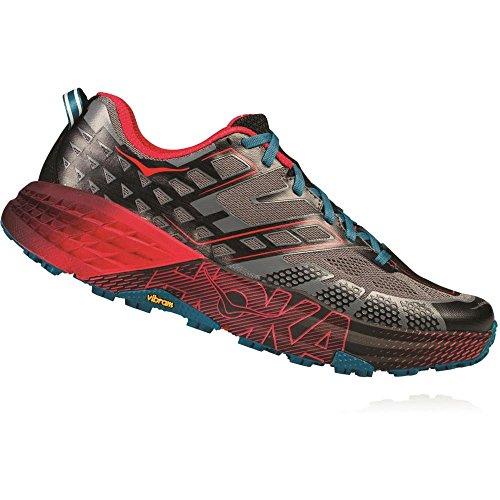 不運田舎否認する(ホカ オネオネ) HOKA ONE ONE メンズ 陸上 シューズ?靴 Speedgoat 2 Trail-Running Shoes [並行輸入品]
