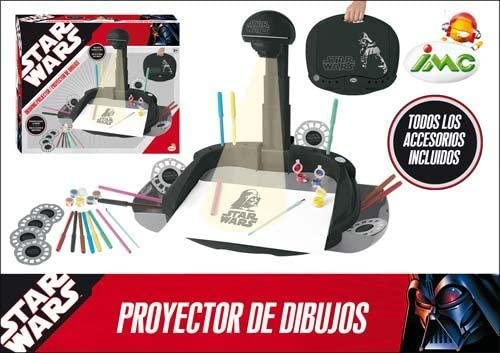 IMC Toys 646983 - Star Wars Proyector Dibujos: Amazon.es: Juguetes ...