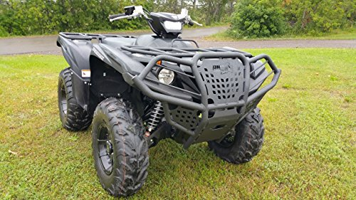 Grizzly 700 - Yamaha Grizzly Kodiak 700 (2016-2018) Quad ATV Bison Front Bumper Brush Guard Hunter Series