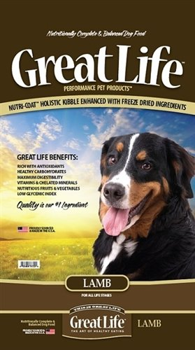 Great Life New Zealand Lamb Dry Dog Food 8 lb.