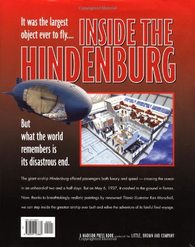 Inside the Hindenburg (Giant Cutaway Book)