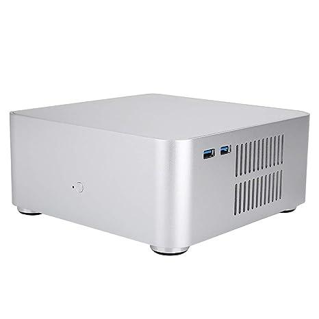PC ITX Case, Computer Case Dual USB3.0 Carcasa de aleación ...