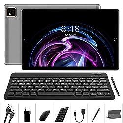 Tablet 10 Zoll Android 10.0-YUMKEM Tablets Octa-Core, 4GB RAM, 64GB ROM, WiFi, Dual Kamera, GPS, 1280x800 HD IPS…
