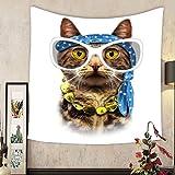 Grace Little Custom tapestry cat print cat illustration t shirt print i love you valentine s day animal print book illustrations