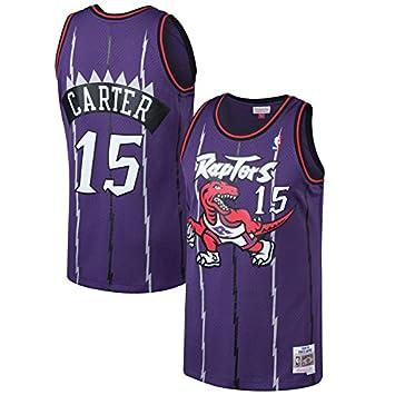 the latest 3f6bb 8a64c Men's Toronto Raptors Vince Carter Mitchell & Ness Purple 1998-99 Hardwood  Classics Swingman Jersey