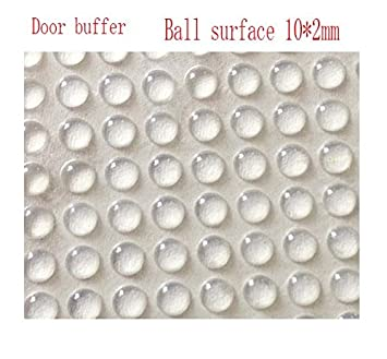 100x Adhesive Silicone Feet Bumpers Door Cupboard Drawer Cabinet Kitchen