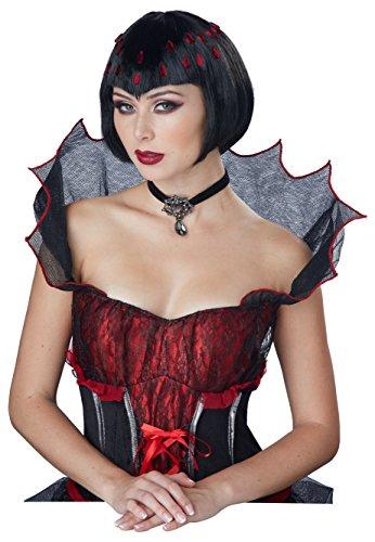 (California Costumes Women's Countess Bloodstone Wig, Black, One)