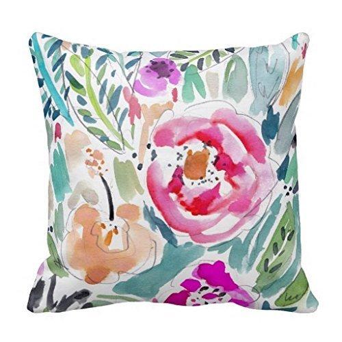 Tropical Teal Tapa Cloth pillow product image
