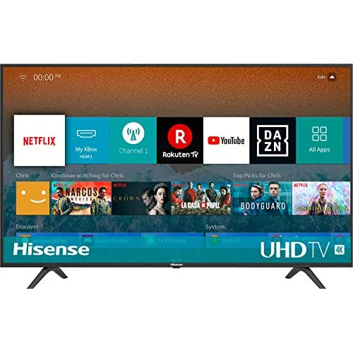 chollos oferta descuentos barato Hisense H50BE7000 Smart TV 50 4K Ultra HD con Alexa Integrada 3 HDMI 2 USB salida óptica y de auriculares Wifi HDR Dolby DTS Procesador Quad Core Smart TV VIDAA U 3 0 con IA