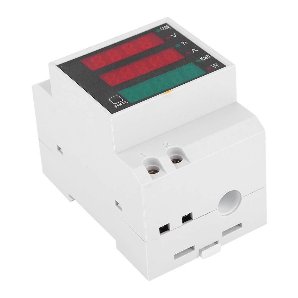 Medidor el/éctrico multifunci/ón D52-2047 Medidor de factor de potencia de voltaje de corriente visualizado digital AC200~450V rendimiento estable Medidor multifunci/ón D52-2047