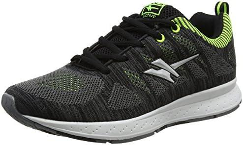 Gola Zenith, Zapatillas de Running para Hombre, Negro (Black/Volt ...