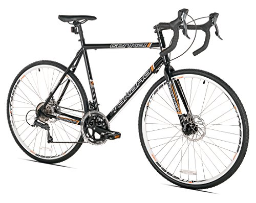 Takara Genkai Gravel/Cyclocross Bike, 700c, Black, Large Kent International, Inc.