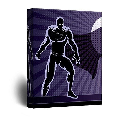 Evil Villain Comic Book Illustration Pop Art