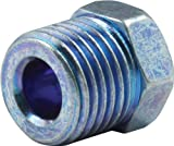 Allstar Performance ALL50119 Blue 1/4'' Inverted Flare Nut - Pair