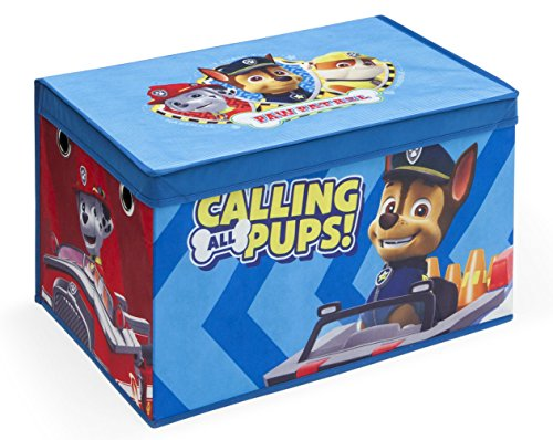 Delta Children Fabric Toy Box, Nick Jr. PAW Patrol