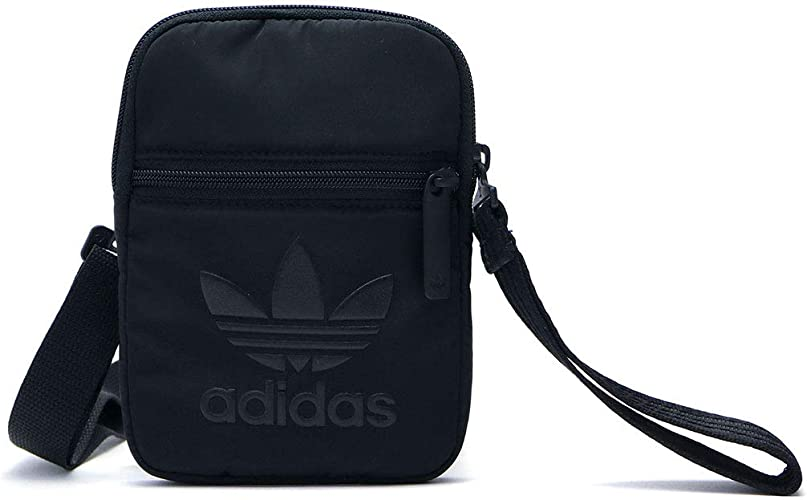 aceleración vaquero De nada  Adidas Festival Bag, Shoulder Bag for Women, Black (Black), 24 x 15 x 45 cm  (W x H x L): Amazon.co.uk: Shoes & Bags