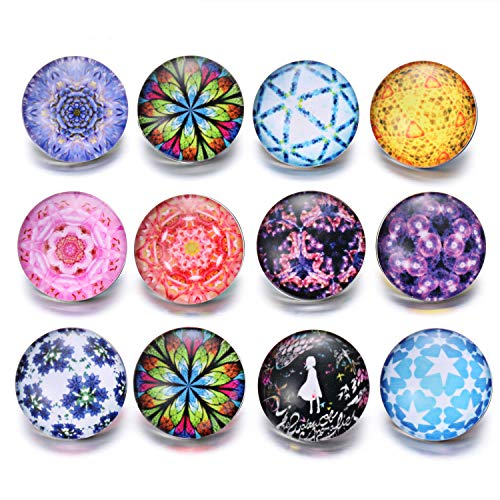 18k Bead Set Bezel - Friendshiy 10pcs/lot New Mixed Jewelry Horse Theme Glass Charms 18mm Button Jewelry for 18mm s Bracelet,27